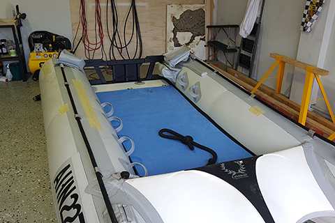 Inflatable Boat Parts, Repairs, Refurbishment & Retubing